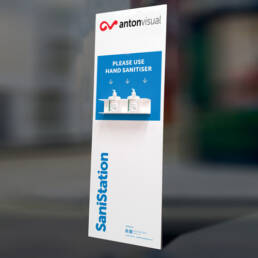Anton Visual Free-stranding SaniStation V3