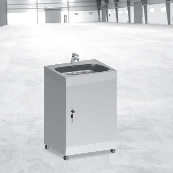 SaniSink mobile sink without backboard