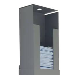 Mask Dispenser preloader mechanism